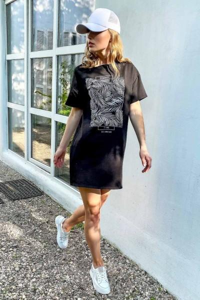 Платье футболка 1743.4703
